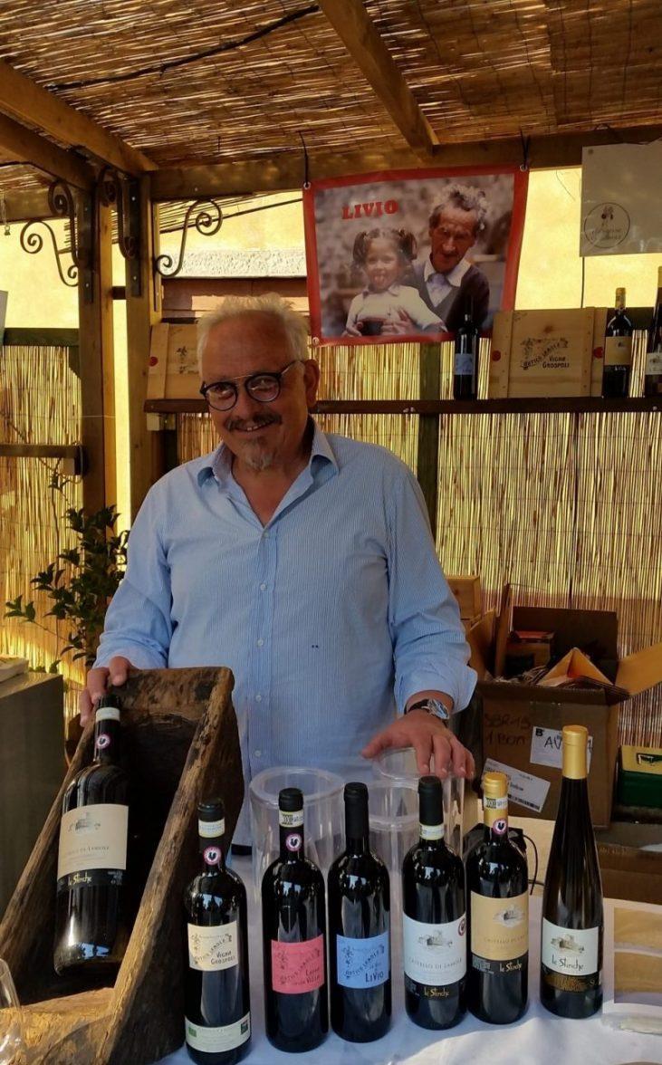 Paolo Socci, proprietario della Fattori di Lamole
